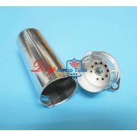 Buy cheap 9 Pin Vacuum Tube Sockets Silver Color 70mm Shield Length For EL84 6P14 6BQ5 from wholesalers