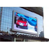 Buy cheap P10 1R1G1B Outdoor Full Color LED Display screen for advertising , high Refresh rate from wholesalers