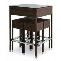 Buy cheap Outdoor rattan wine bar set-16080 from wholesalers