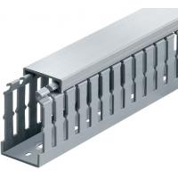 Buy cheap 2M heat - resisting light weight Solid Wiring Ducts, PVC Cable Trunkings for wire cover from wholesalers