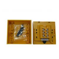 Buy cheap Yellow 3A 36V Sandblast Fini Emergency Break Glass Alarming for Exit Door from wholesalers