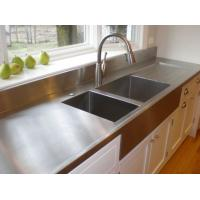 Buy cheap 201 304 stainless steel plain sheet for countertop from wholesalers
