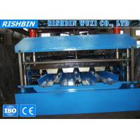 Buy cheap High Precision Metal Deck Roll Forming Machine with PLC Control System product