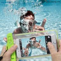 Buy cheap 8 Photos Dry Bag Waterproof case bag PVC Protective universal iPhone Bag Pouch With Compass Bags For Diving Swimming from wholesalers