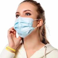 Buy cheap Breathable Earloop Face Mask , Blue Surgical Mask Dustproof Eco Friendly from wholesalers