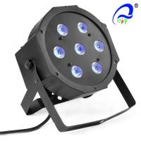 Buy cheap Indoor 7pcs 10 Watt Rgbw 4in1 LED Par Can Led Lights DJ Stage Lighting Equipment from wholesalers