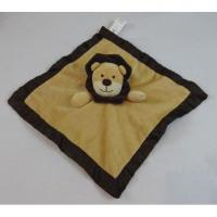 Buy cheap Belle Brown Tan Lion Kids Plush Dolls Warm Breathable Animal Baby Blanket from wholesalers