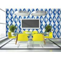 Buy cheap Lounge Room Removable 3D PVC Wallpaper Floral Decoration ISO CE Standard product