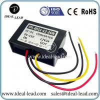 Buy cheap ip65 transformer 5v-11v dc to 12v dc 2A current converter from wholesalers