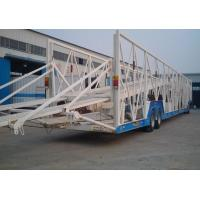 Buy cheap 3-axle Hydraulic system car carrier semi trailer / Car Hauler Trailer from wholesalers