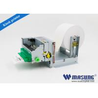 Buy cheap Queue machine system mini USB kiosk thermal printer module with presenter for self-service terminal from wholesalers