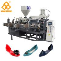 Buy cheap Single Color Ladies Jelly Shoe sandals Manufacturing Machines 10Cm/S Injection Speed from wholesalers