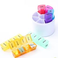 Buy cheap New Design 7-Day  Pill Organizer 28 Parts Colorfull Pill Box Pills Dispenser from wholesalers