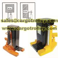 Buy cheap Lifting toe jack manual operation from wholesalers