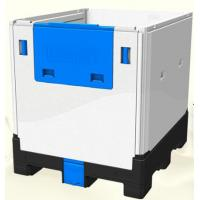 Buy cheap HDPE Plastic Foldable IBC Container 1200L For Food And Chemical Storage from wholesalers