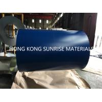 Buy cheap CGCC G550  0.12 x 914MM Blue PPGI Prepainted Galvanized Steel Sheet in Coils Z50 from wholesalers