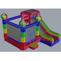 Buy cheap Home ASTM 4*4.5*3.7M Inflatable Combo Bounce House from wholesalers