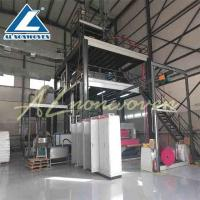 Buy cheap Single S Model Pp Non Woven Fabric Making Machine , Non Woven Fabric Manufacturing Plant from wholesalers