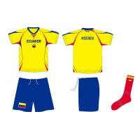 Buy cheap Sublimated Soccer Jersey, Football Kit Jerseys With Shorts and Socks from wholesalers