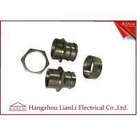 Buy cheap 3 Pieces Swivel Adaptor Flexible Conduit Adaptor Inside For PVC Coated Conduit from wholesalers