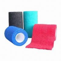 Buy cheap Non-woven Cohesive Bandage, latex free, self adhesive from wholesalers