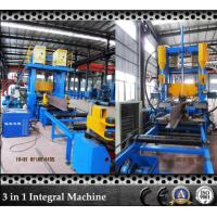 Buy cheap H beam Welding Equipment 3 In 1 Automatic Beam Welding Line PLC Controller For Steel Structure Factory from wholesalers