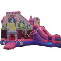 Buy cheap Safety Family Fun Inflatable Combo Bouncer House With UL / CE Certificates from wholesalers