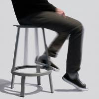 Buy cheap Revolver Bar Stool Modern Bar Chairs Black Home Furniture For Model Houses from wholesalers