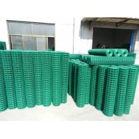 "Quality PVC Welded Wire Mesh Green,2""x2"",1""x1"" for sale"
