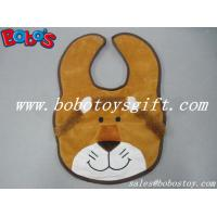 Buy cheap 13Cheap Baby Stuff Plush Brown Lion Baby Bibs from wholesalers