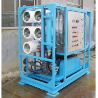 Buy cheap Water Pressure 0.3Mpa Seawater Desalination Equipment from wholesalers
