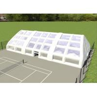Buy cheap Double Layer Strong Inflatable Lawn Tent Inflatable Camping Tent For Tennis Football Game from wholesalers