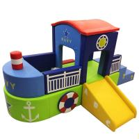 China Childrens Large Foam Play Mats With Customized Size/pirate boat kids soft play/indoor soft play area on sale