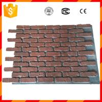 Buy cheap High quality light weight antique faux brick panels for home decorations from wholesalers