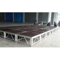 Buy cheap 18mm Plywood Small Aluminium Stage Platform , Waterproof Collapsible Stage Platform from wholesalers