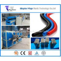 Buy cheap Quality HDPE PP PA PVC Single Wall Corrugated Pipe Extrusion Line from wholesalers
