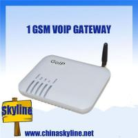 Buy cheap 1 port gsm voip gateway,GoIP 1(sip and H.323),850/900/1800/1900Mhz from wholesalers