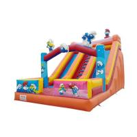 Buy cheap PVC Safety Colorful Giant Inflatable Slide UV Resistant High Airtight And Soundness from wholesalers