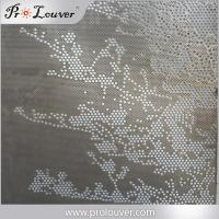 Australia standard Architectural design perforated aluminum screen