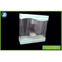 Buy cheap Cosmetic Transparent Plastic Folding Cartons , Gift Folding Plastic Boxes product