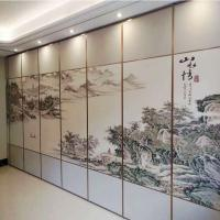 Buy cheap Acoustic Material System Operable Sliding Partitions Walls For Hotel Decorative from wholesalers