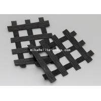 Buy cheap Warp Knitted Polyester PET Biaxial Uniaxial Geogrids For Road Construction from wholesalers