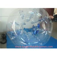 Clear 1.5m TPU Inflatable Bubble Ball For Young , Outdoor Games Inflatable Bumper Bubble Ball