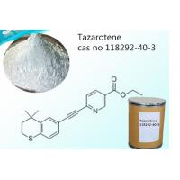 Buy cheap High Purity Medicine Tazarotene CAS 118292-40-3 For Treatment Psoriasis / Acne from wholesalers