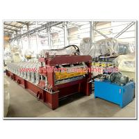 Buy cheap Aluminium Step Tile Roofing Sheet Making Machine /Long Span and Steptile Aluminium Roofing Sheets Corrugating Machine from wholesalers