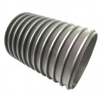 Buy cheap Sewage Filtration Wedge Wire Sieve Filters Vee Wire Screen Tube High Oil Extraction Rate from wholesalers
