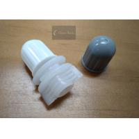 Buy cheap Polyethylene Round Twist Top Cap 12mm For Plastic Bag / Pouch , Plastic Material product
