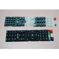 Buy cheap Eco Friendly Conductive Silicone Rubber Keypad Waterproof With Remote Control from wholesalers