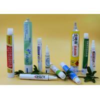 Customized Cosmetics Aluminium Collapsible Tubes Conual Piercer Cap