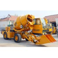 Buy cheap 2WD Type Heavy Construction Machinery , 1.6 Cubic Meters Concrete Transit Mixer from wholesalers